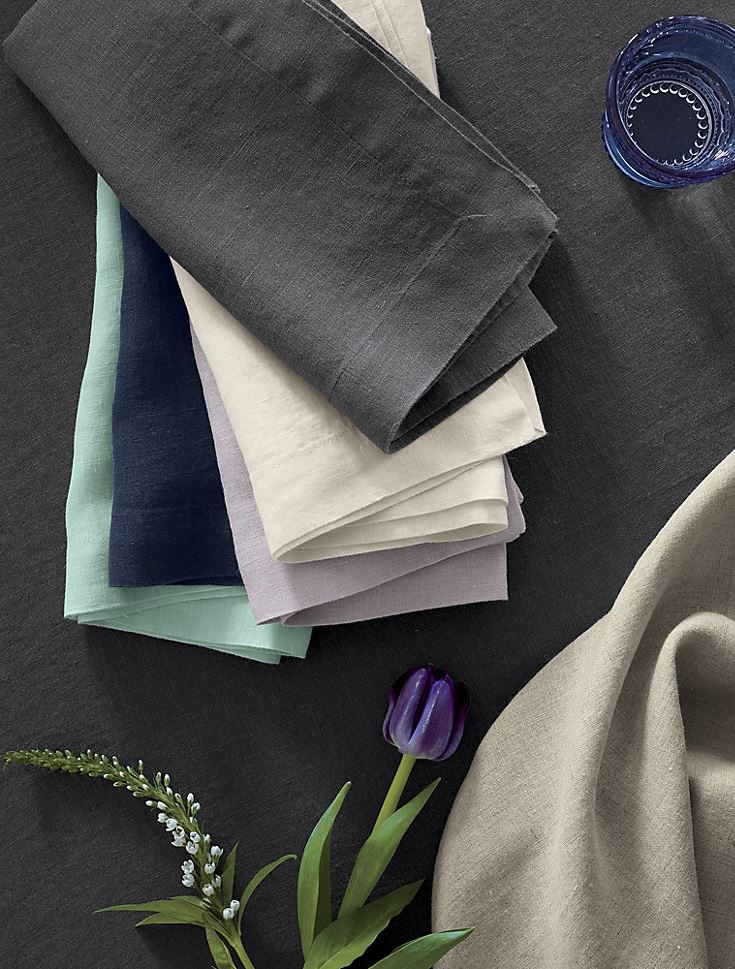 Spring-linens-from-Crate-Barrel