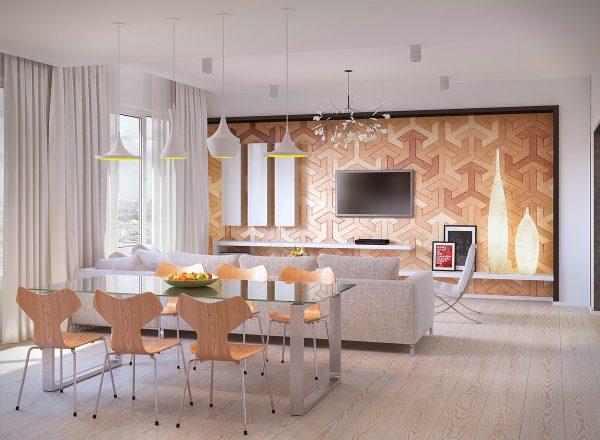 grey-and-yellow-beat-lights-dining-room-lighting-ideas-600x440