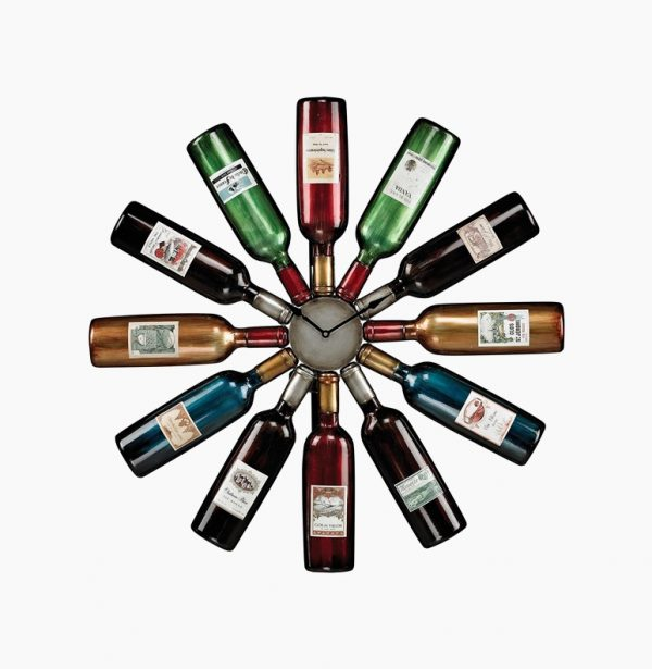 12-wine-bottle-large-kitchen-wall-clocks-600x615