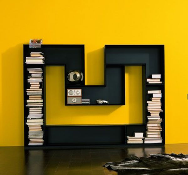 m-shaped-bookcase